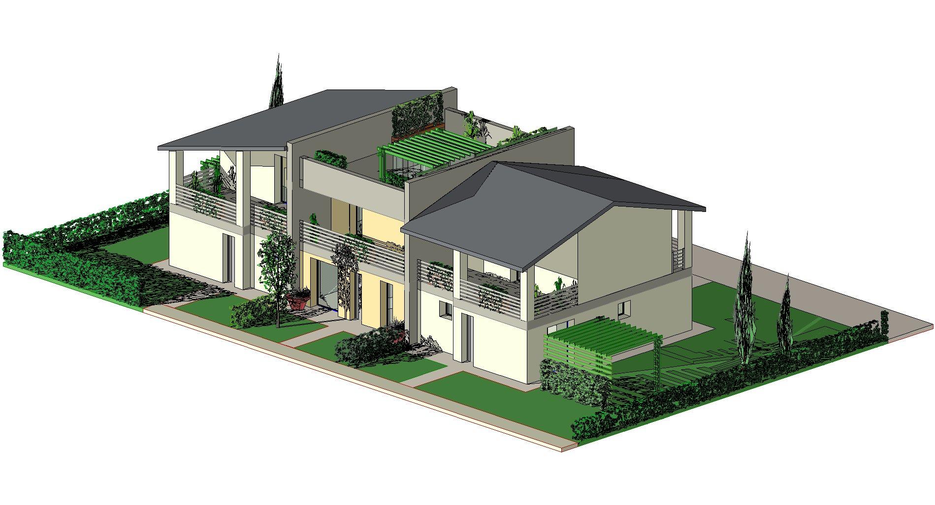 Progetti Esterni Case : Case moderne progetti simple free amazing il comfort di abitare